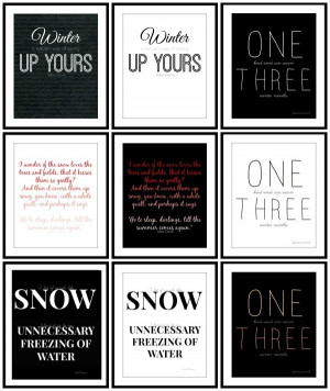 Hate The Cold Weather Quotes Winter-quotes-and-printables- ...