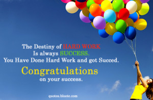 Congratulations Quotes Sayings and Wishes