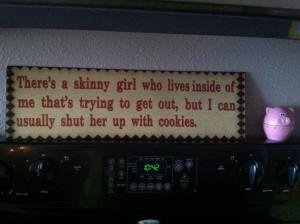 Skinny girl!