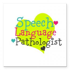 ... > Careers Auto > Speech Language Pathologist Square Car Magnet 3&qu