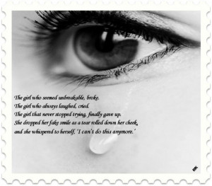 Sad Quotes:- I can't do this more.....