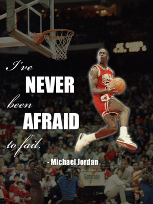 February 17, 1963 -Quote: I\'ve never been afraid to fail.