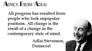 Adlai Stevenson's quote #2