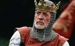 Patrick McGoohan as King Edward II