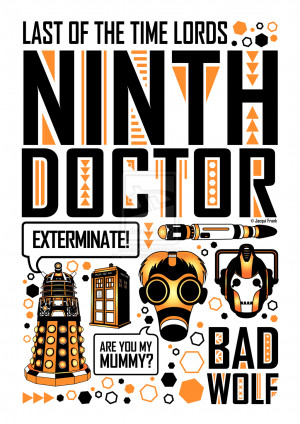 Ninth Doctor: Poster by jacqui-kate