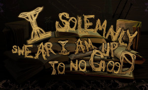 solemnly swear I'm up to no good - I don't even know - Skreened T ...