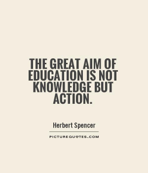Education Quotes Knowledge Quotes Herbert Spencer Quotes