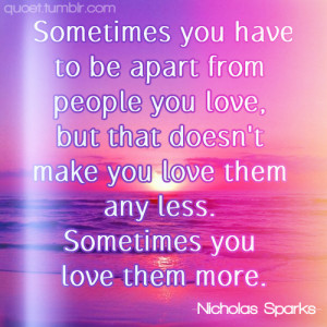 quoet # quote # nicholas sparks # nicholas sparks quotes # the ...