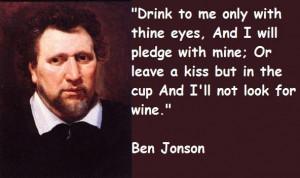 Ben jonson quotes 2