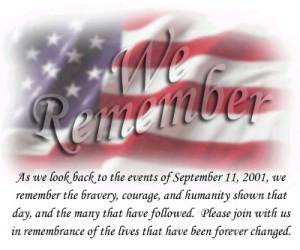 11 REMEMBRANCE - 10 YEAR ANNIVERSARY