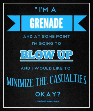 in Our Stars quote [TFIOS]