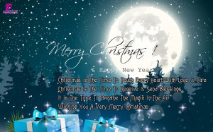 Merry Christmas Greetings and Happy New Year Wishes Card Images Far ...