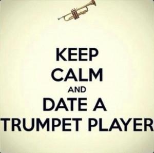 Love my trumpet player