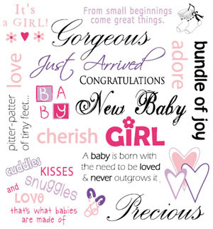 ... Come Great Things Gorgeous Just Arrivel Congratulations New Baby Girl