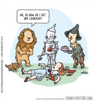 Funny photos funny Dorothy Wizard of Oz comic