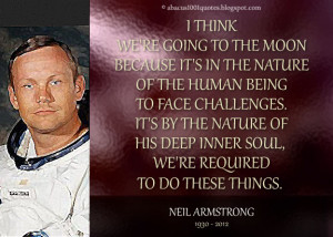 Neil Armstrong's Inspirational Quote