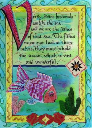 are like the sea...