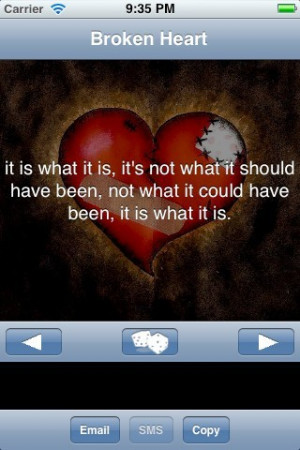 Broken Heart Quotes and Sayings 1.0