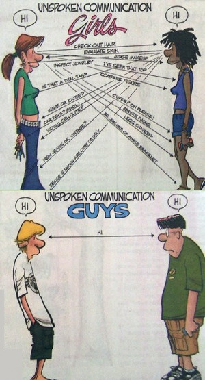 Men vs. Women   Funny but True