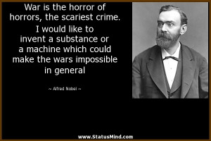 Alfred Nobel Quotes Alfred nobel quotes