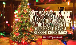 Christmas Tree Quotes