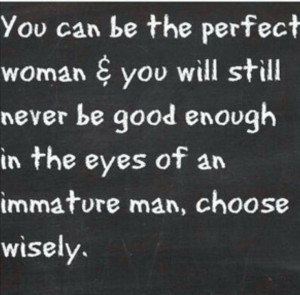 ... eyes of an individual immature man #loser #u deserve the best ladies