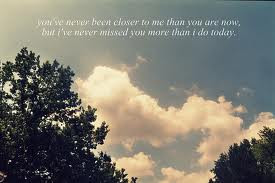 You've Never Been Closer To Me Than You Are Now, But I've Missed ...
