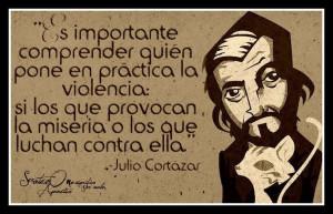 Sobre la violencia. Julio Cortázar