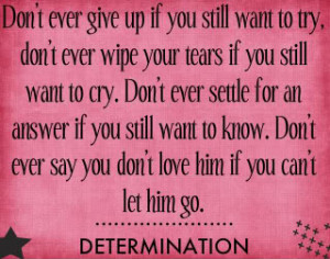 Quotes and Sayings :: life-determination-quote.jpg picture by ...