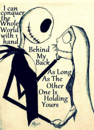 Nightmare before christmas.never seen this movie but now I might have ...