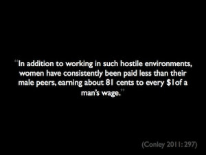 Quote About Women Making Less Money Than Men