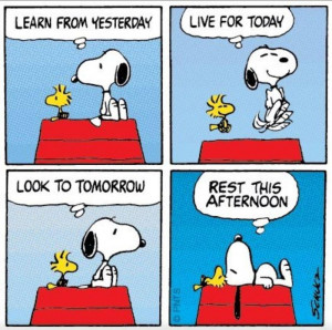 Poster> Snoopy's Philosophy of Life by Charles Schulz #peanuts #quote ...