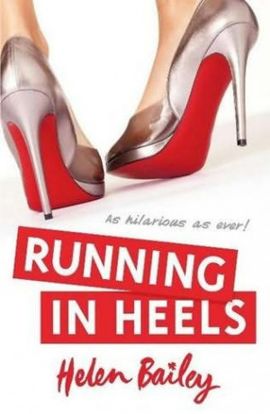 book cover of Running in Heels