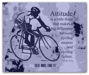 Poster Collages with Cycling Quotes