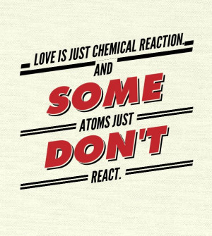 love = chemical reaction
