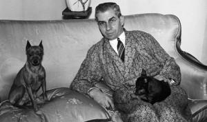 Lucky Luciano v roce 1958 v Itálii