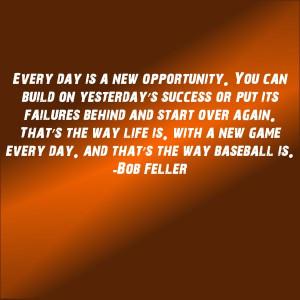 Bob Feller quote