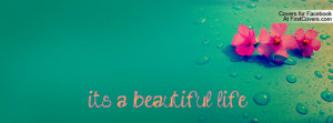 it's a beautiful life Profile Facebook Covers