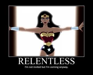 WW 'Relentless' Motivational by Owl-Eye-2010