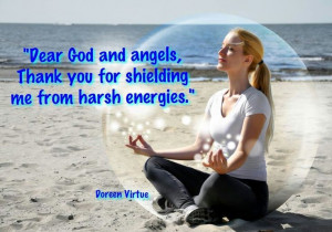 Dear God and Angels...thank you ~Doreen Virtue quote