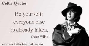 Oscar Wilde. Image Copyright - Ireland Calling