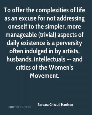 Barbara Grizzuti Harrison Husband Quotes