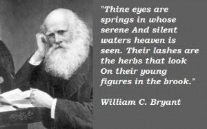 William c bryant famous quotes 1