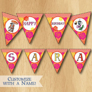 Disney+Frozen+Birthday+Banner++Customized+Summer+by+PrintMeParties,+$7 ...