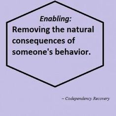 Stop enabling the narcissist More