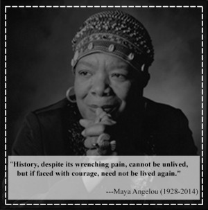 History, despite its wrenching pain, cannot be unlived, but if faced ...