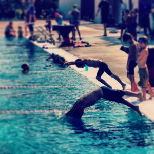 Funny Competitive Swimming Quotes Good in swimming too.