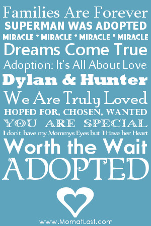 NATIONAL ADOPTION MONTH 2012 LOGOS