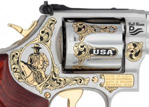 John Wayne Patriotic Tribute Smith & Wesson Revolver