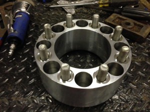 Rear wheels spacers for coined factory wheels mator build 102 jpg